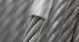 Lina stalowa ocynkowana w powłoce PVC